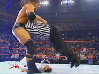 He screwed Bret! Thanks HHH!